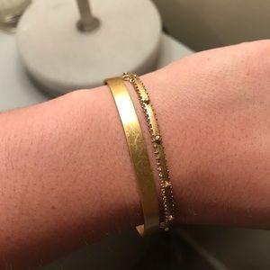 MADEWELL gold bracelets